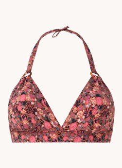 love stories Love Stories Sade Grand Amour halter bikinitop met bloemenprint