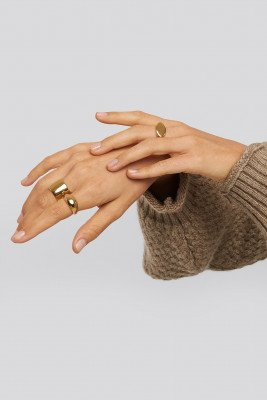 XLE the Label XLE the Label The Go To Rings - Gold