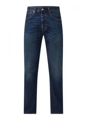 Levi's Levi's 501 straight fit jeans met stretch en medium wassing