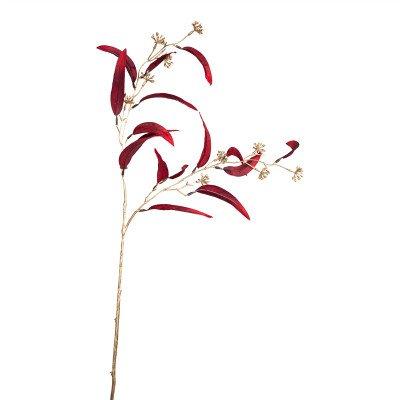 Firawonen.nl Leaves Plant red gold eucalyptus spray