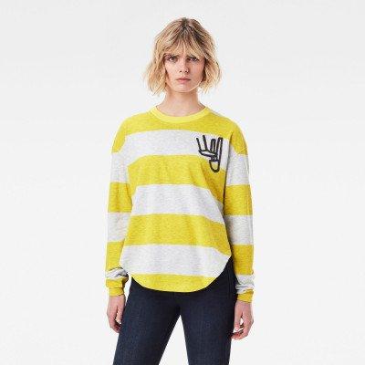 G-Star RAW Striped Tweater - Meerkleurig - Dames