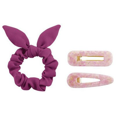 Essence Essence PinkandProud Unstoppable Scrunchie&Hairclips
