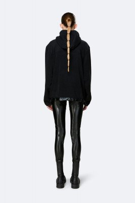 Rains Rains Dames Fleece Pullover - Black