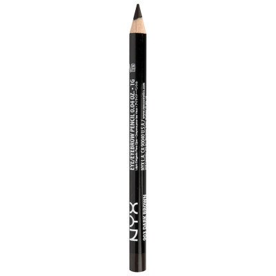 NYX Professional Makeup NYX Professional Makeup 03 - Dark Brown Slim Pencil Oogpotlood 1 g