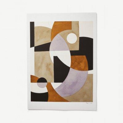 MADE.COM Composition 02 door Berit Mogensen Lopez, print, 50 x 70 cm