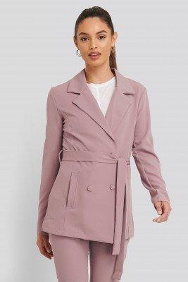Trendyol Blazer Met Details - Purple