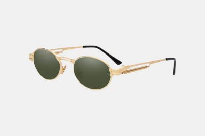 Blank-Sunglasses NL FUNK. - Gold with green