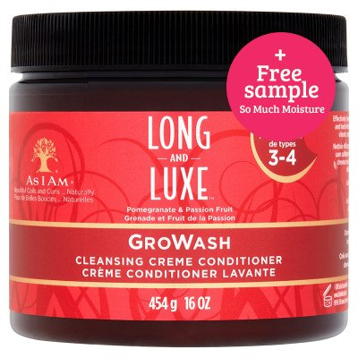 As I Am As I Am Long&Luxe GroWash Conditioner