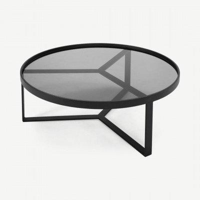 MADE.COM Aula salontafel, zwart en grijs