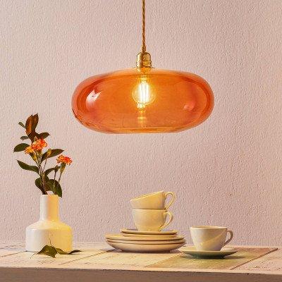 Ebb en Flow EBB & FLOW Horizon hanglamp rood Ø 36cm