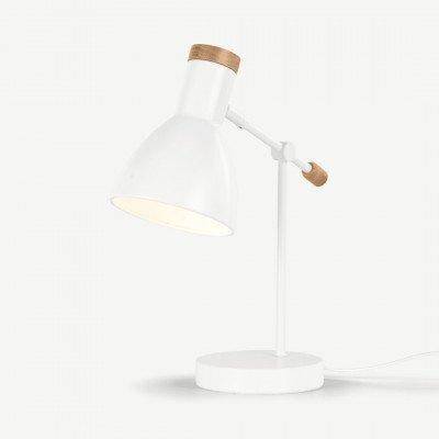 MADE.COM Cohen nachtkast lamp, wit