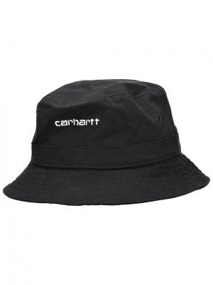 Carhartt WIP Carhartt WIP Script Bucket Hat zwart