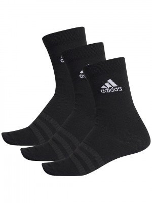 adidas Originals adidas Originals Light Crew 3PP Socks zwart