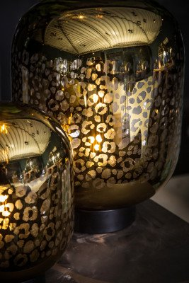 PTMD PTMD Tafellamp 'Shevon Gold'