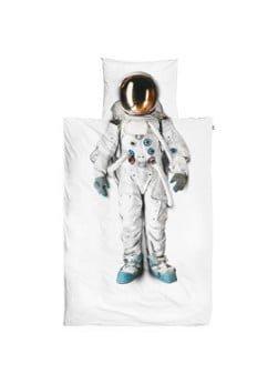 Snurk Snurk Astronaut kinderdekbedovertrekset van katoen perkal 160TC - inclusief kussenslopen