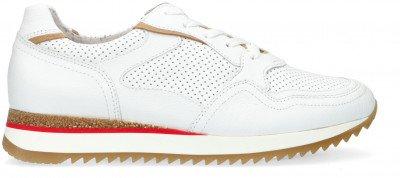 Gabor Witte Gabor Lage Sneakers 036.1