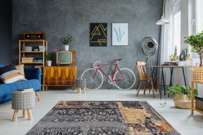 Kayoom Kayoom Vloerkleed 'Blaze 500' kleur Multicolor, 115 x 170cm