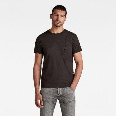 G-Star RAW Pocket T-Shirt - Zwart - Heren