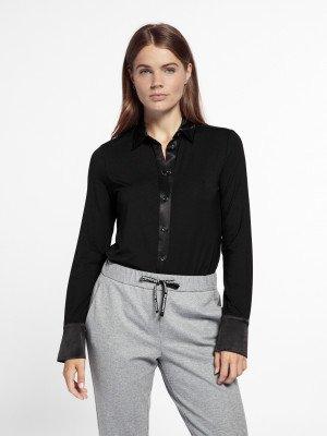 Beaumont Beaumont Jersey blouse - Black