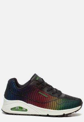 Skechers Skechers Uno Eye Catching sneakers zwart