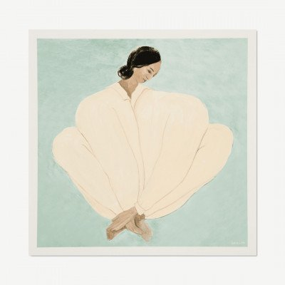 MADE.COM The Poster Club Meet Me at Jaures,, print door Sofia Lind, 50 x 50 cm