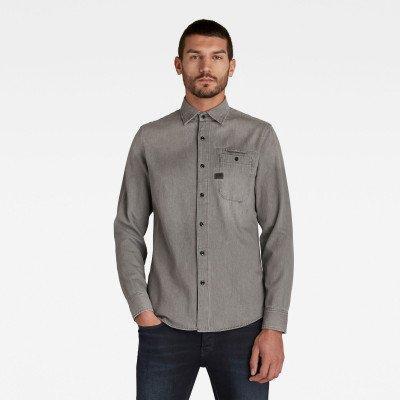 G-Star RAW Bristum Slim Shirt - Grijs - Heren