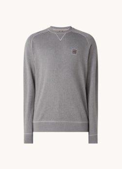 Hugo Boss HUGO BOSS Westart sweater met logo
