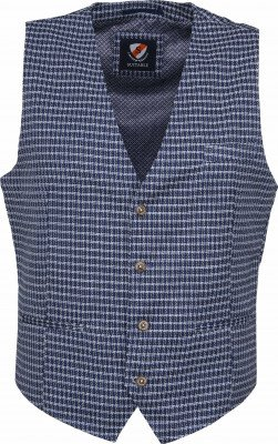 Suitable Gilet Kris Serres Blauw - Blauw maat 54