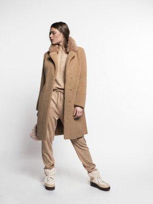 Beaumont Beaumont Fur-wool blazercoat