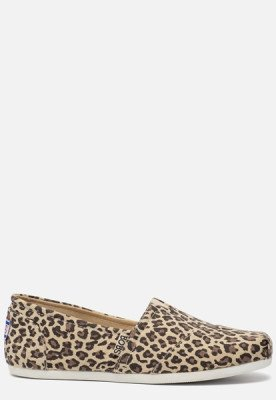 Skechers Skechers Bobs Plush Hot Spotted instappers luipaard