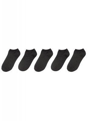 HEMA 5-pak Sneakersokken Zwart (zwart)