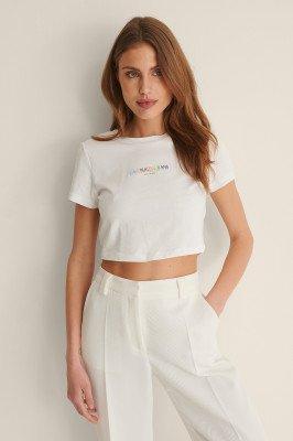 Calvin Klein Calvin Klein T-Shirt Met Logo - White