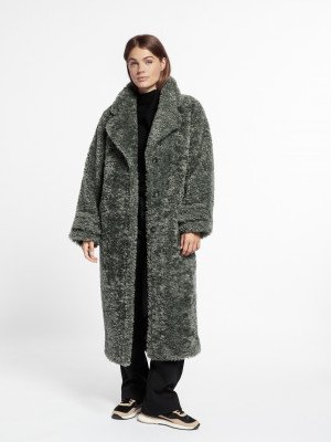 Beaumont Beaumont Oversized teddy - Soft Green