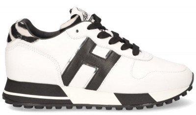 Hogan Hogan H383 Wit/Zwart Damessneakers