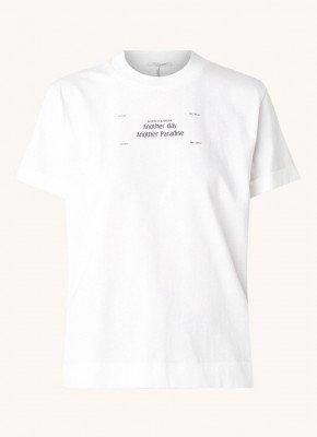 Scotch en Soda Scotch & Soda T-shirt met tekstprint
