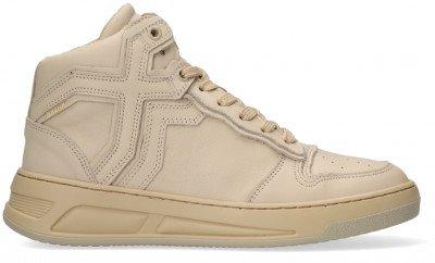 Bronx Beige Bronx Hoge Sneaker Old-cosmo 47325