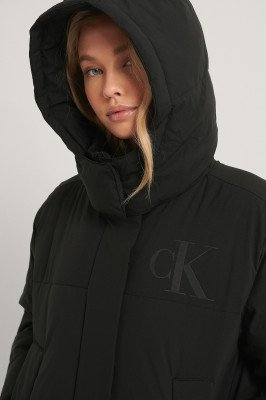 Calvin Klein Calvin Klein Gerecycleerd Donsjack - Black