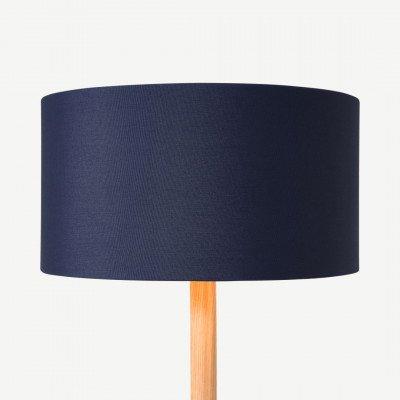 MADE.COM Oro lampenkap, 30 cm, donkerblauw en koper