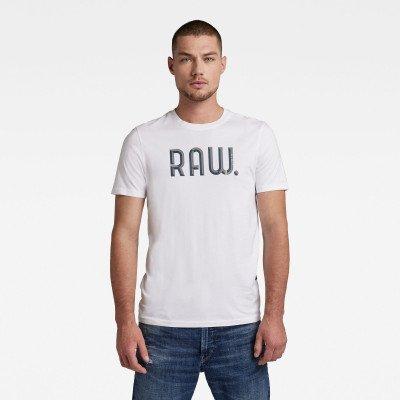 G-Star RAW 3D RAW. Slim T-Shirt - Wit - Heren