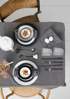 HEMA HEMA Ontbijtbord - 20.5 Cm - Amsterdam - Wit (wit)