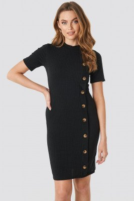Sisters Point Sisters Point Luna Dress - Black