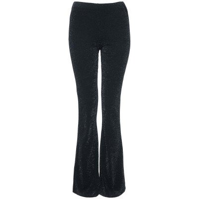 ComegetFashion GLITTER FLARED BROEK