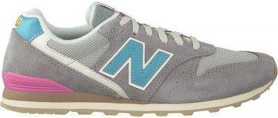 New Balance Grijze New Balance Lage Sneakers Wl996