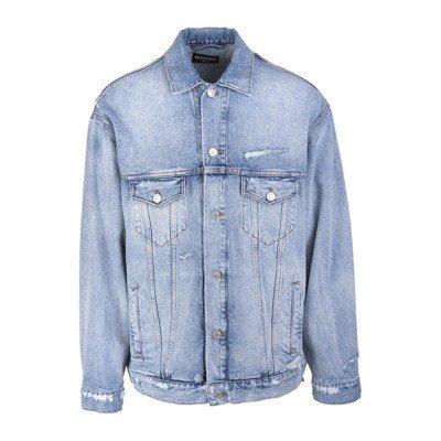 Balenciaga Barcode Large Fit Jacket