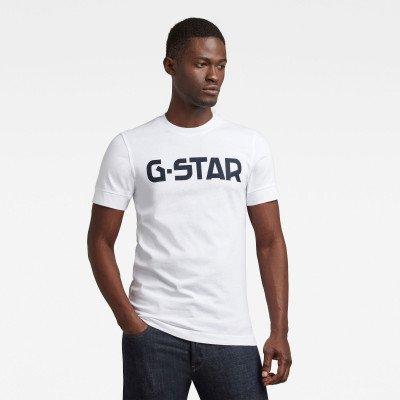 G-Star RAW T-shirt Originals Logo - Wit - Heren
