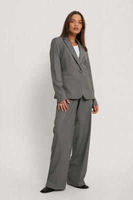 MANGO Pantalon - Grey