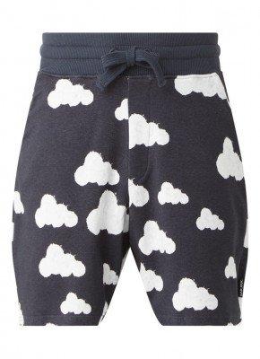 Snurk Snurk Cloud 9 pyjamashorts van biologisch katoen met print