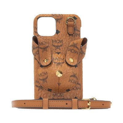 MCM Strapped case iPhone XS