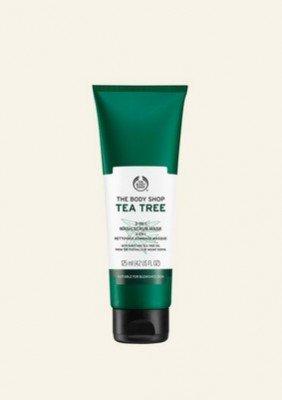 Tea Tree 3-in-1 Wash Scrub Mask 125 ML