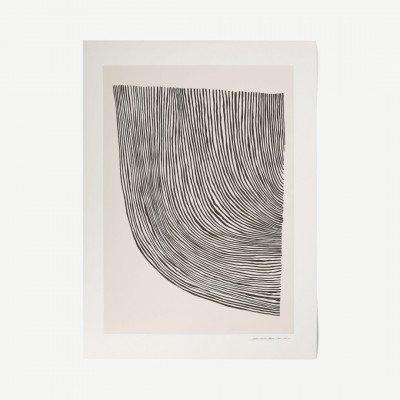 MADE.COM The Poster Club, Curves, print door Leise Dich Abrahamsen, 50 x 70 cm